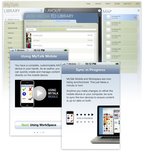 web app on mobile devices